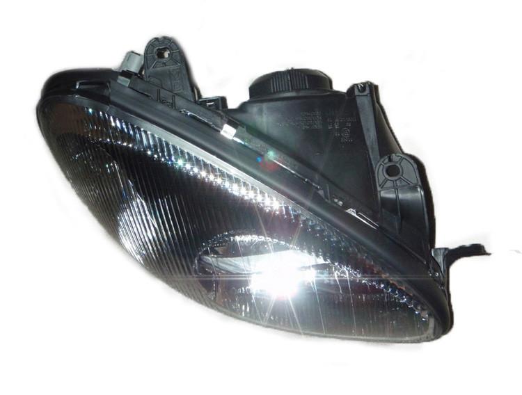 Фара правая передняя в черном корпусе (под электрокорректор) Lanos / Ланос, Sens / Сенс, 96304611