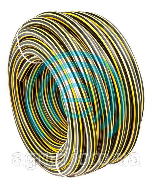 Шланг для полива Зебра - 3-слойный армированный 3/4 (19мм), 100м