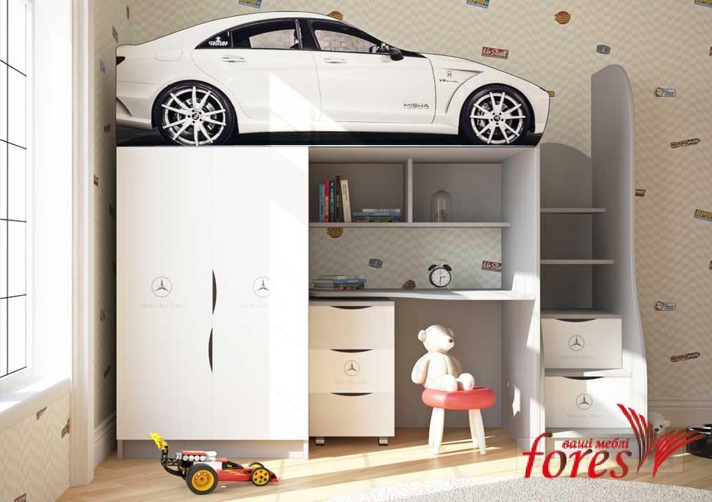 Кровать-чердак Bed Room-1 «Mercedes» серия Бренд