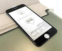 Защитное стекло iPhone 6, 6s 5D Black черное