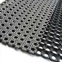 Грязезащитное резиново-сотовое покрытие