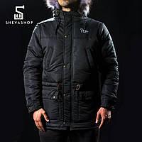 Зимняя мужская куртка Pitt 2016 чёрная, фото 1