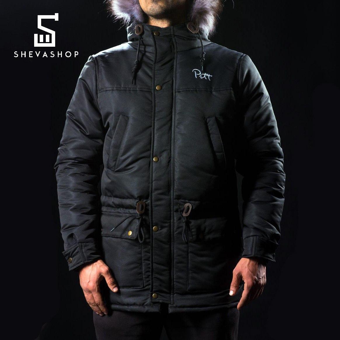 Зимняя мужская куртка Pitt 2016 чёрная