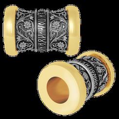 НАДЕЖДА. Православная бусина шарм с молитвой, серебро