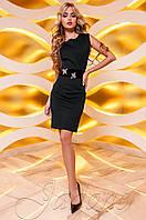 Женское черное платье Корси Jadone  42-48 размеры