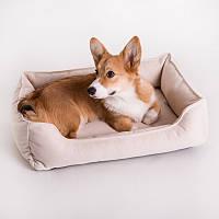Dog Space White - Космический (мягкий лежак с бортами для собак)