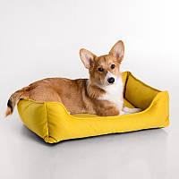 Dog Space Yellow - Космический (мягкий лежак с бортами для собак)