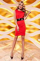 Женское красное платье Корси Jadone  42-48 размеры