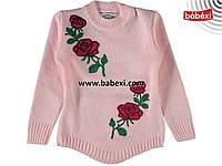 Теплая свитер туника для девочек  7-8 лет.Турция!Свитер, кофта, джемпер, туника, на девочку