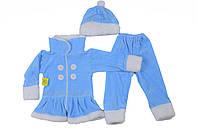 """Детский новогодний костюм """"Снегурочка"""" для девочек"""