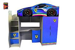 """Кровать-чердак Bed Room """"Ferrari """" серия Бренд"""