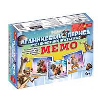 """1986 Настільна гра: """"Мемо.Льодовиковий період"""" (Ч)"""