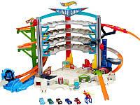 Игровой набор детский Hot Wheels Легендарный гараж (CMP80)