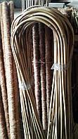 Гнута бамбукова опора 75 см для квітів, фото 1
