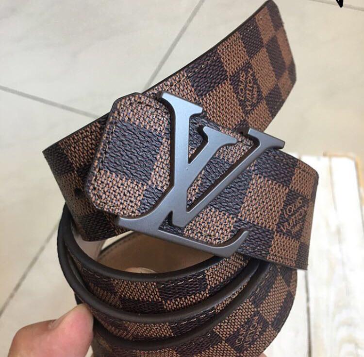 Пояс Louis Vuitton D2422 коричневый