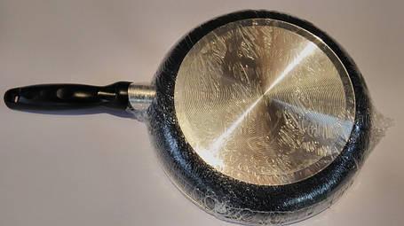 Сковорода алюминевая с антипригарным покрытием  (26 см), фото 2