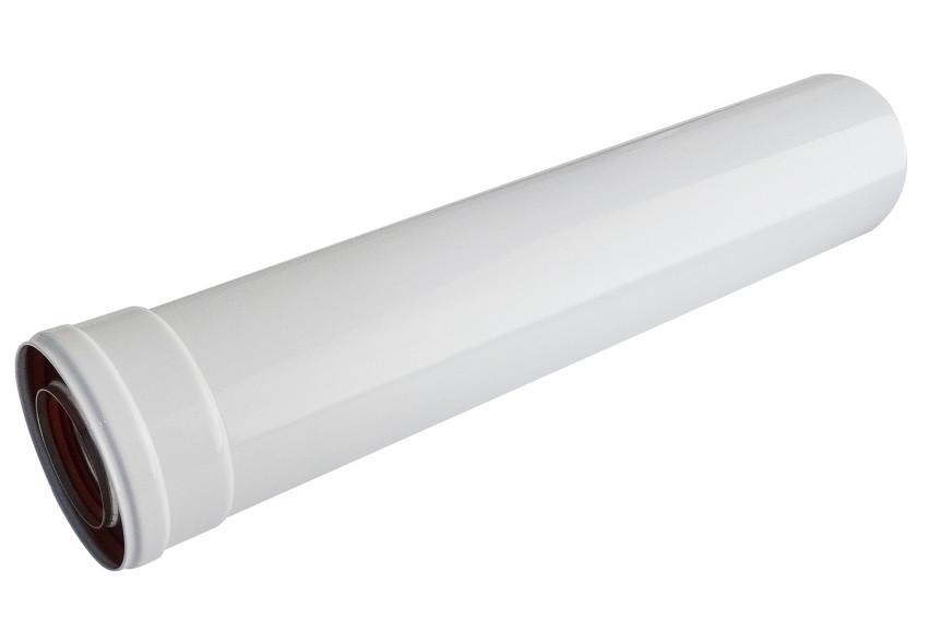 Удлинитель для коаксиального дымохода для газового котла 0,5 м A005.