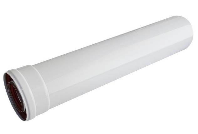 Удлинитель для коаксиального дымохода для газового котла 0,5 м A005., фото 2