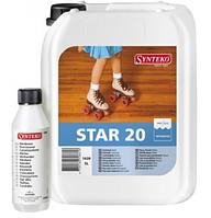 Лак SYNTEKO STAR 20 45 90 паркетный двухкомпонентный, 5л+0.24л отвердитель
