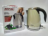 Чайник MPM MCZ-59/B cream 1,7 л