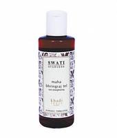 Маха брингарадж масло для волос  210мл (Maha bringaraj hair oil) SWATI. Масло для укрепления и роста волос.