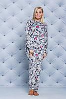Пижама женская махровая angry birds