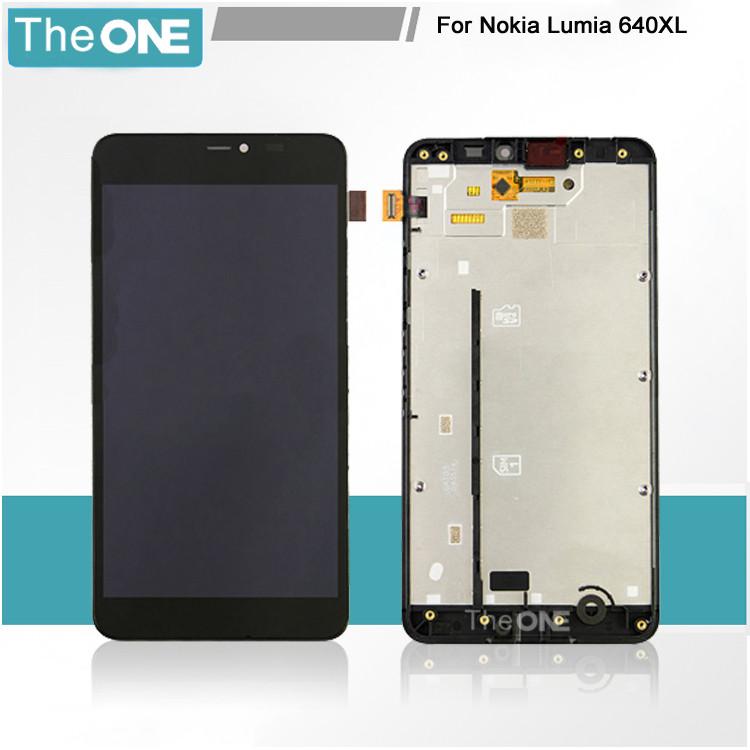 Модуль Microsoft Lumia 640 XL black (оригинал) дисплей экран, сенсор т