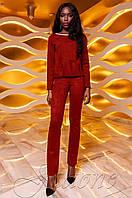 Женский красный костюм Карис Jadone Fashion 42-48 размеры