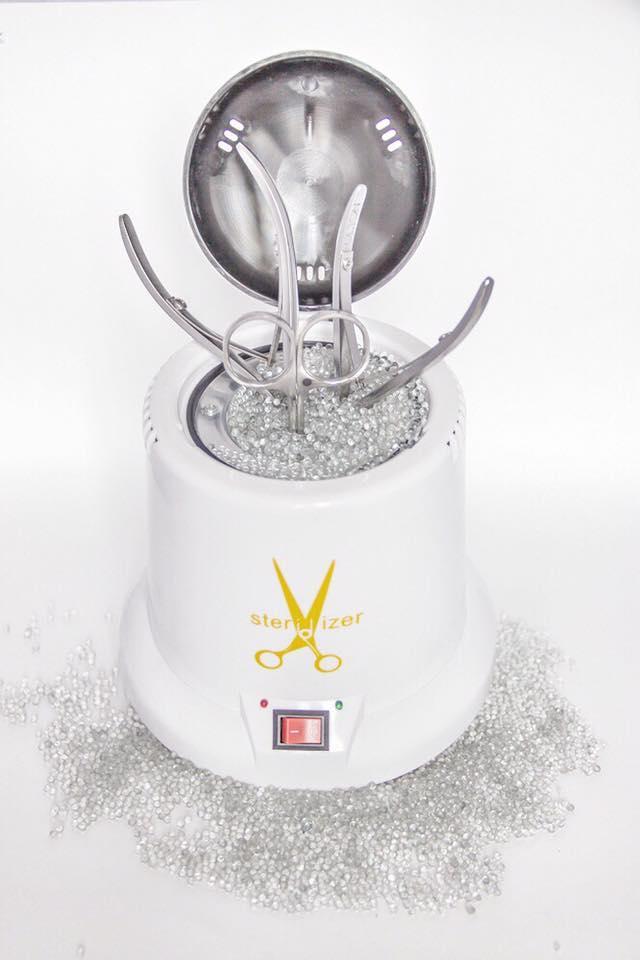 Стерилизатор шариковый для инструментов белый