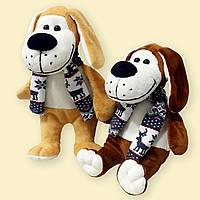 Мягкая игрушка Собачка, возможно нанесение логотипа