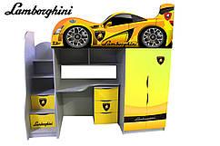 """Кровать-чердак Bed Room """"Lamborghini """" серия Драйв"""