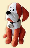 Мягкая игрушка собачка Арчи, возможно нанесение логотипа