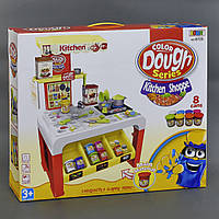 Детский набор для лепки 32 дет, свет, звук, на батарейке, в коробке