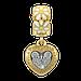 ПЕТРО І ФЕВРОНІЯ .Православна намистина шарм, срібло, фото 2