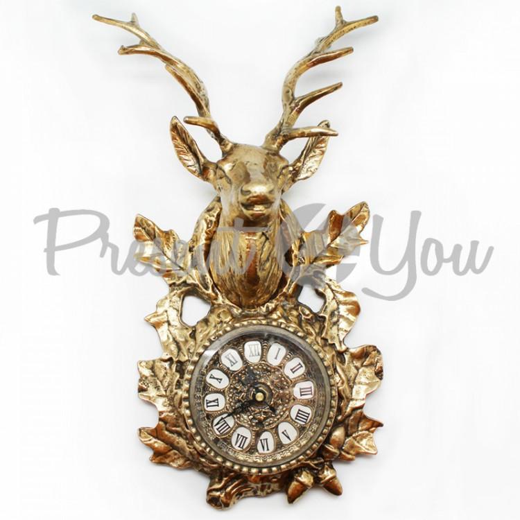Часы настенные «Олень» Virtus, 34х19 см (5020)