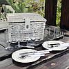Корзина для пикника на 2 персоны с наполнением (123-0155E), фото 3