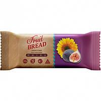 Батончик Фруктовый хлеб Инжир-подсолнух, ТМ Сладкий Мир, 60 г