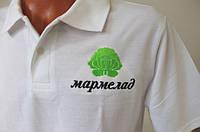 Машинная вышивка на футболках