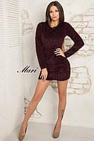 Теплое платье для модниц