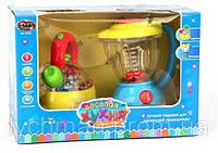 """Детский игровой набор: чайник и блендер PLAY SMART 0920 """"Веселая кухня"""""""