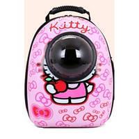 Космический Рюкзак переноска для котов и собак мелких пород CosmoPet Hello Kitty