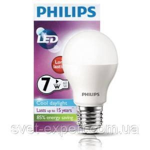 CorePro LED bulb ND 7.5-60W A60 E27 840 Philips светодиодная, фото 2
