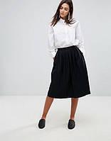 Новая миди юбка в складку H&M