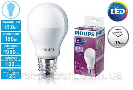 LED Bulb 18-130W E27 6500K 230V A67 /PF Philips светодиодная, фото 2