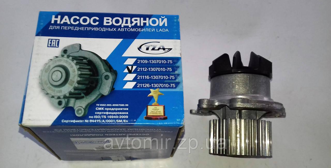 Насос водяной Ваз 2112 16-и клапан  пластиковая крыльчатка