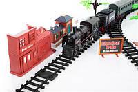 Электрическая железная дорога 7 м с паром Kinderplay
