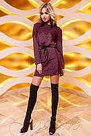 Женское бордовое платье Эрика Jadone  42-48 размеры