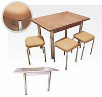 Комплект кухонный стол плюс табуреты Оскар-Чико