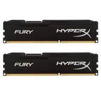 Модуль памяти для компьютера DDR3 8Gb (2x4GB) 1600 MHz HyperX Fury Black Kingston (HX316C10FBK2/8)