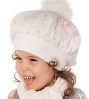 DemboHouse. Зимовий комплект для дівчинки Бланка білий розміри 48 f3e81203c5601